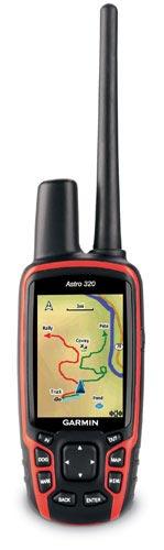 garmin astro 320 handheld transmitter detail