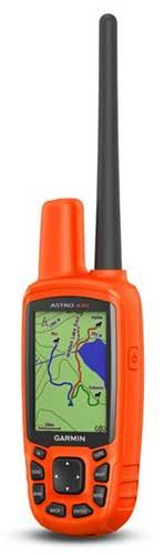 garmin astro 430 handheld transmitter detail