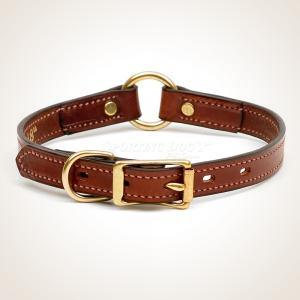 "Mendota 3/4"" Leather Hunt Collar"