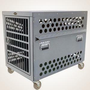 zinger heavy duty dog crate airline approved aluminum dog crates